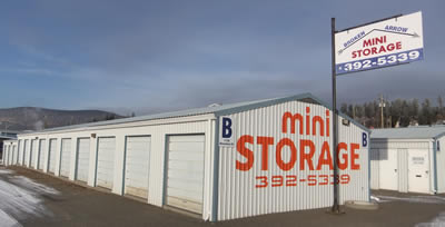 Broken Arrow Mini Storage, Williams Lake, BC